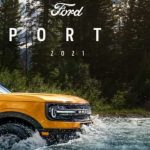 Catalogo ford bronco Sport 2021